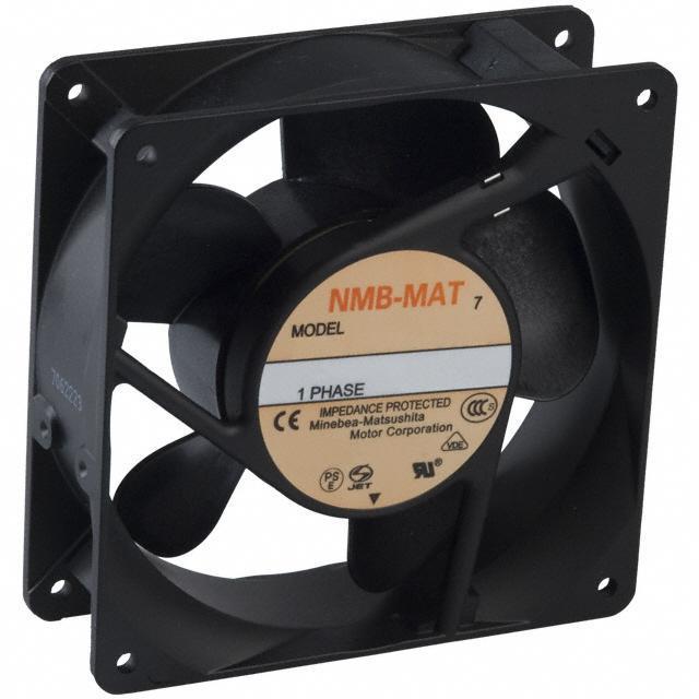 FAN AXIAL 119X38MM 230VAC TERM - NMB Technologies Corporation 4715MS-23T-B50-A00