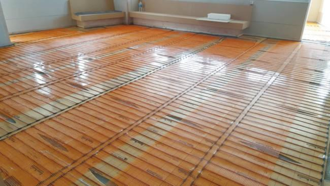 Fußbodenheizung - Selbstregulierende Elektro Fußbodenheizung Nano Heat