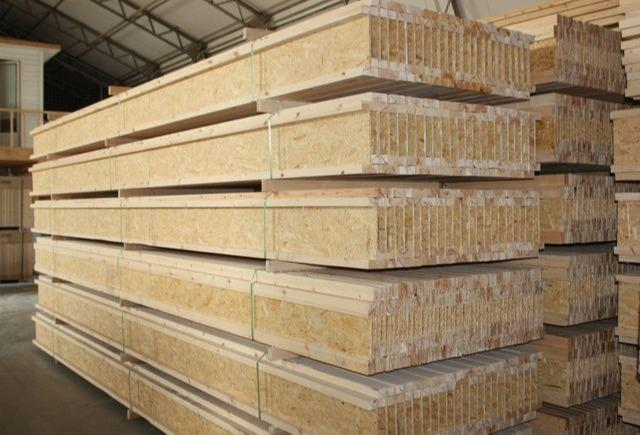 Timber I-Beam - Structural timber I-beam for trussed rafters and floor and ceiling structures