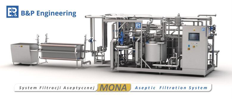 Aseptic Filtration System MONA | ACB elimination