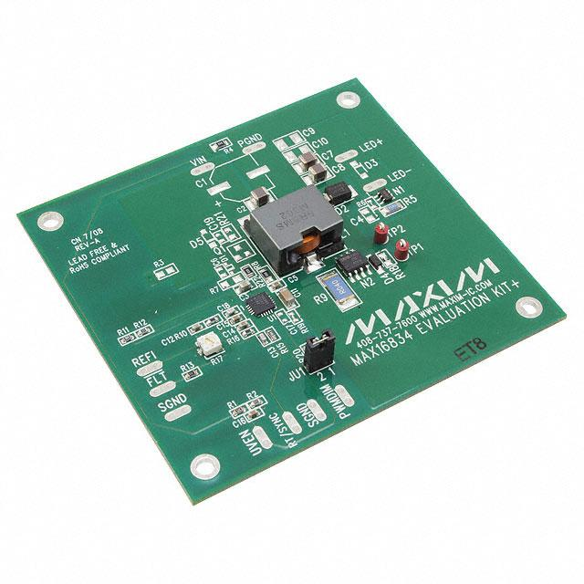 EVAL KIT FOR MAX16834 - Maxim Integrated MAX16834EVKIT+