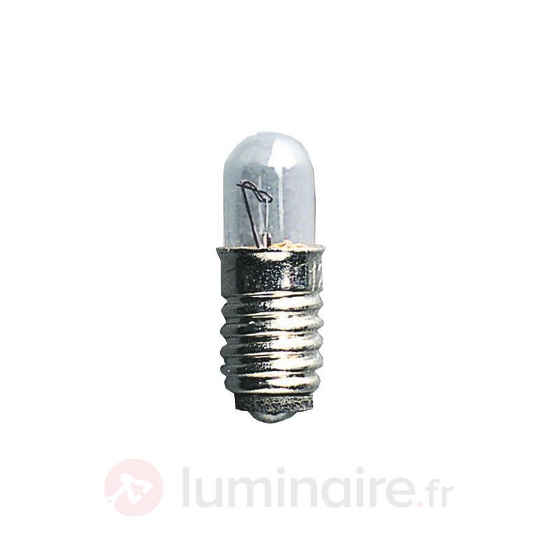 Ampoules de rechange basse tension E5 1,2W 12V - Ampoules à l'unité