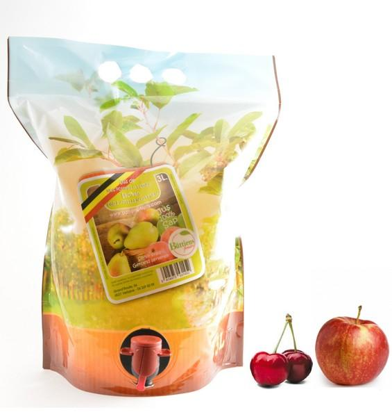 Apple and cherry juice