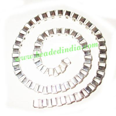 Silver Plated Metal Chain, size: 5mm, approx 16.5 meters in  - Silver Plated Metal Chain, size: 5mm, approx 16.5 meters in a Kg.