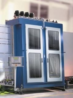 Glasplatten-Waschmaschine - null