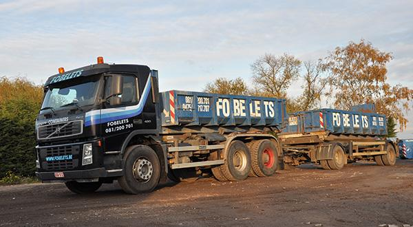Camion containers - Transport divers