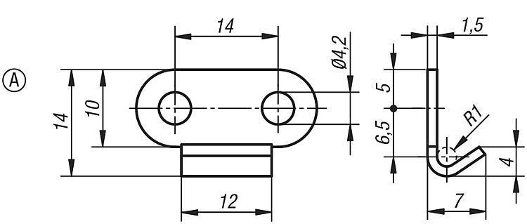 Flexibles Normteilesystem - Spannverschlüsse mit Federbügel