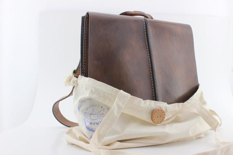 unisex çanta - el yapımı deri unisex çanta