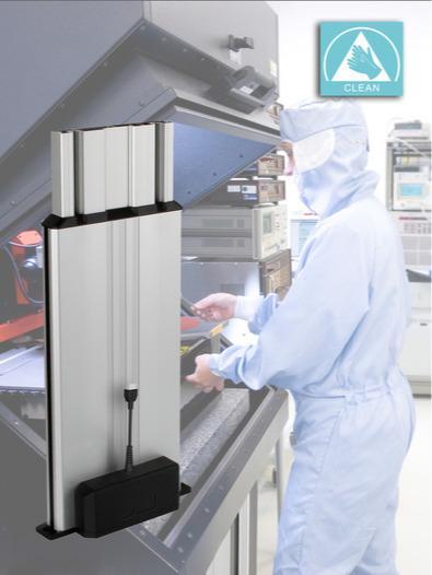 Colonna telescopica Multilift II clean - Ideale per l'impiego in camera bianca