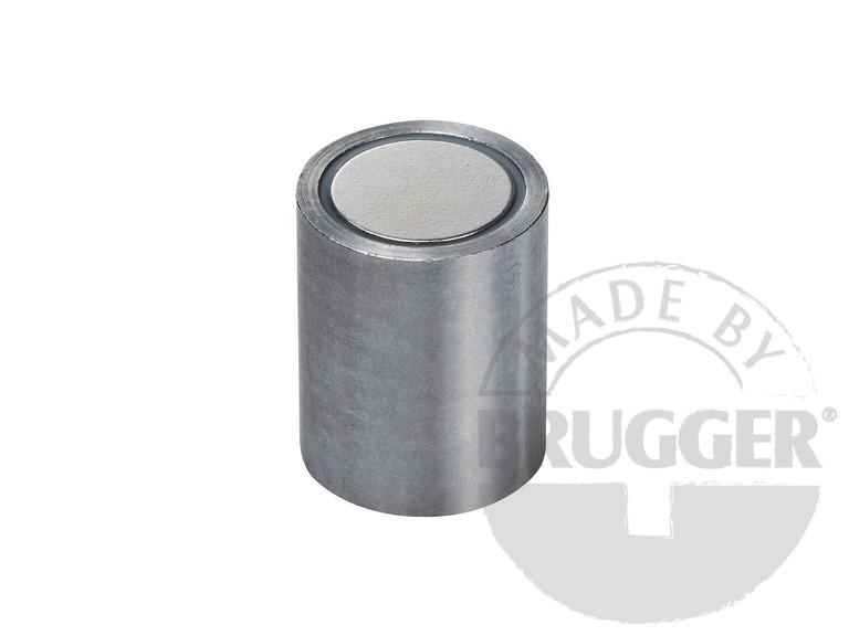 Bar magnet NdFeB, steel body with fitting tolerance h6 - null