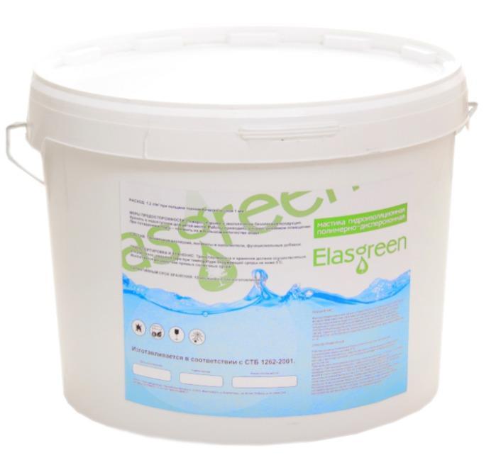 Мастика гидроизоляционная Elasgreen -
