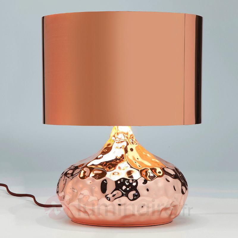 Lampe à poser Rumble Copper, 38 cm - Lampes à poser designs