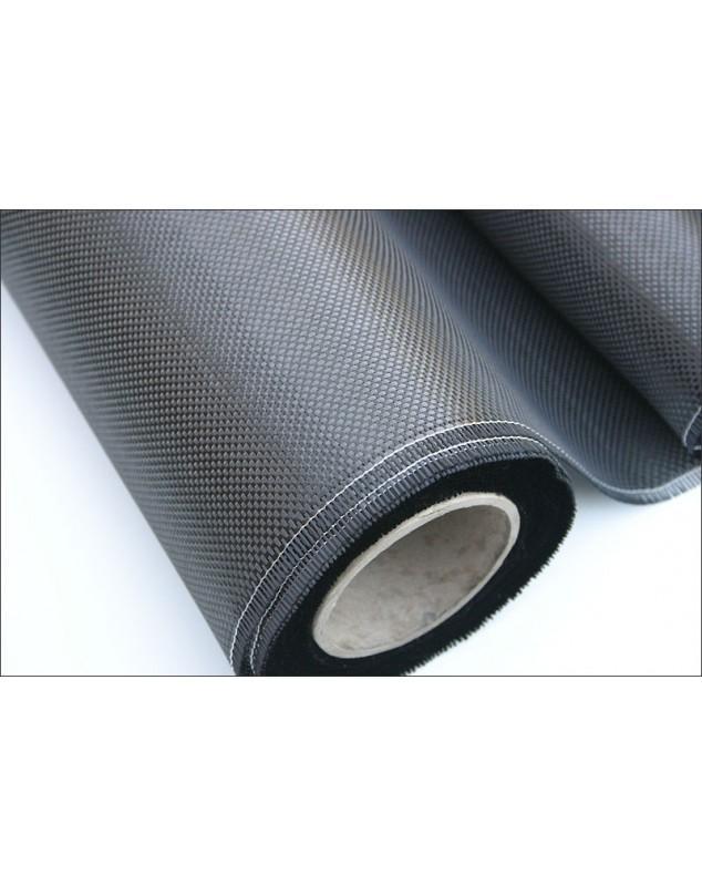 CARBONE 200G/M² SERGE 2/2 - 1M² - CARBONE