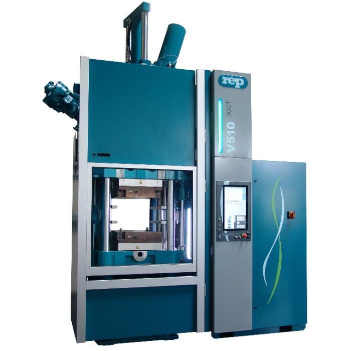 Modèle V510 Extended - 3 050kN - Presses à injecter le caoutchouc verticales