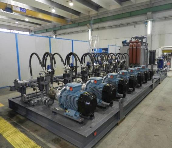 Power Hydraulic Unit 7 Pumps and Oil Tank - Hydraulic & Auxiliary Systems
