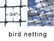 Bird Nets & Netting - bird netting