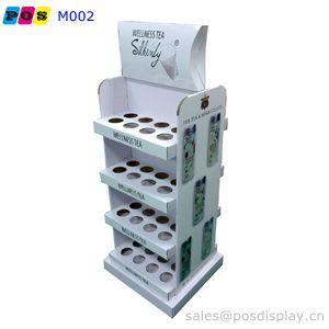 floor display stands - double sided corrugated floor display stands