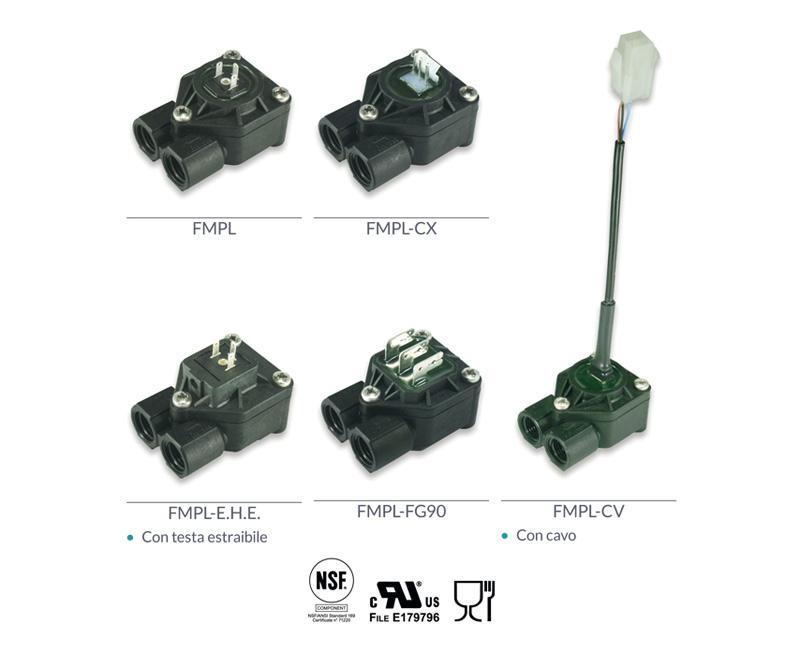 Modelli plastici alta pressione - CONTATORI VOLUMETRICI