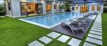 Gazon artificiel pour piscine