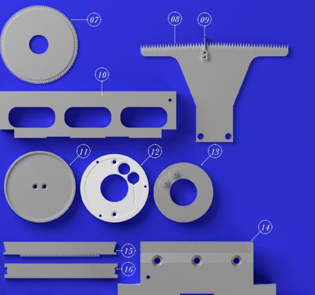 PACKAGING CUTTING BLADES - BISCUITS AND PASTRY CUTTING BLADES