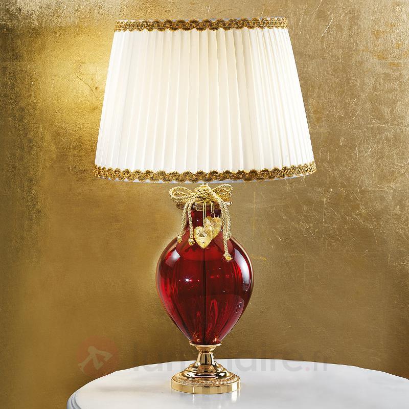 Lampe à poser Ella en verre de Murano - Lampes de chevet