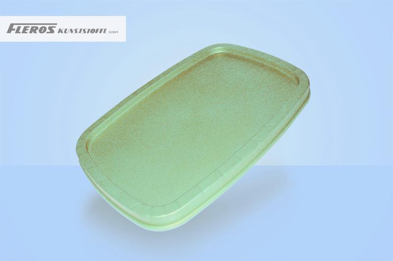 Rectangular buckets - FSD 3.000 sealing lid for plastic buckets, rectangular, PP