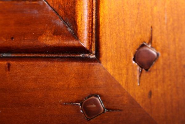 Porte de meuble en bois