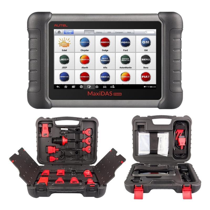 Autel Maxi DAS DS 808 K avec kit de connexion complet... - Valise diagnostic
