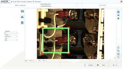 Logiciel d'apprentissage des contrôles vision à la machine