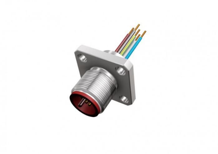 Hochtemperatur Steckverbinder M12x1 - Hochtemperatur Steckverbinder
