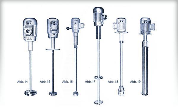 Rühr- und Mischturbinen