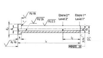 Auswerfer - Auswerferhülsen DIN ISO 8405