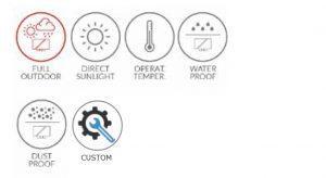 FASCIA – Display a LED per bordocampo - null