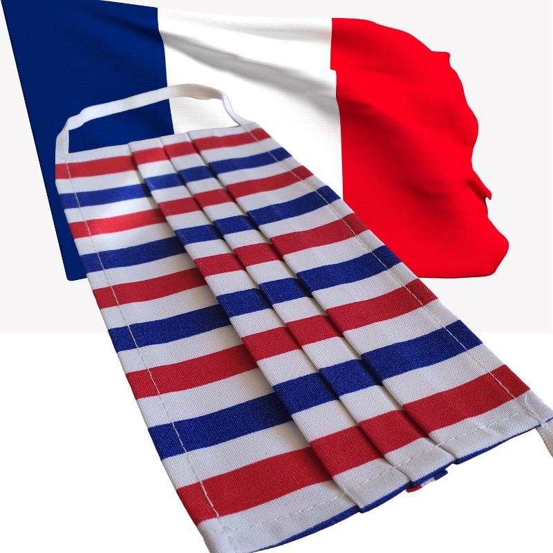 Masque 3 Plis France - null