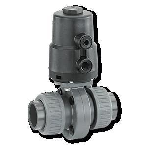 GEMÜ 410 - Válvula de mariposa de accionamiento neumático
