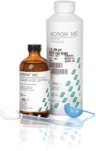 GC ACRON MC - Résine polymérisant par micro-ondes