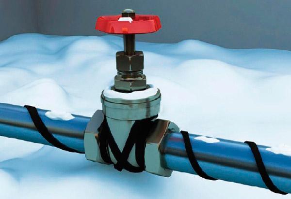 Cable calefactor de autorregulación de la serie Anze -