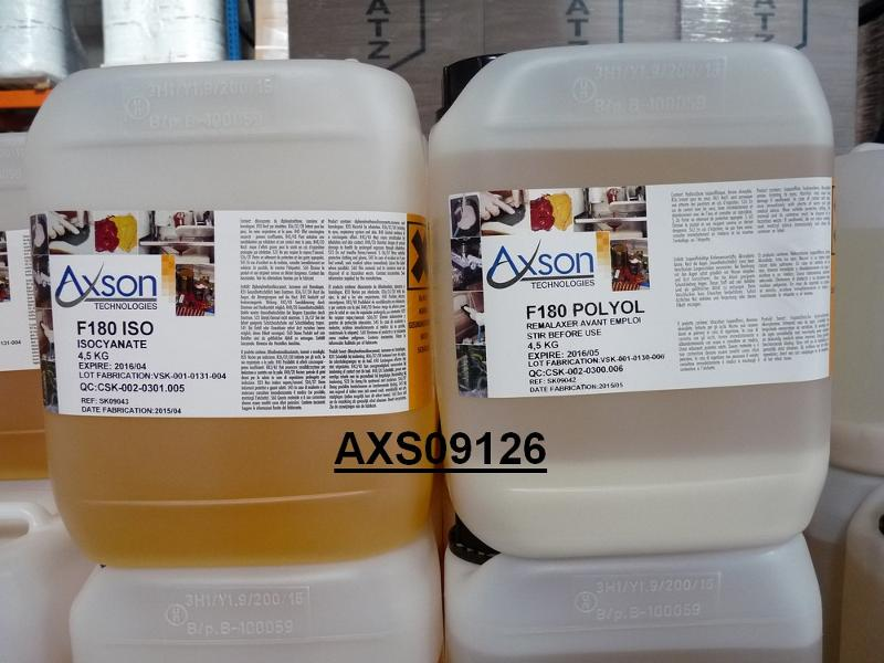 RESINE PU RAPIDE F180 KIT 9 KG - Resines polyurethanes Fastcast et prototypage rapide
