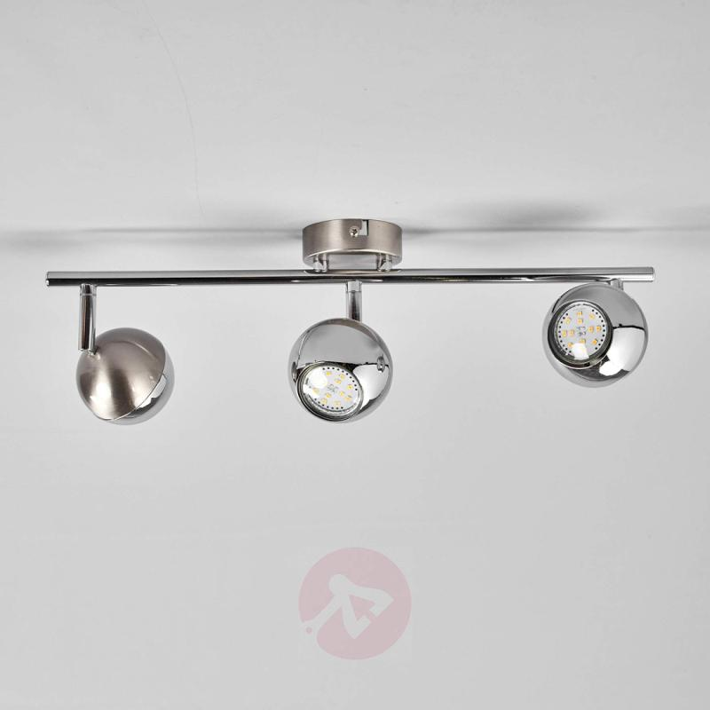 3-bulb LED ceiling lamp Arvin - indoor-lighting