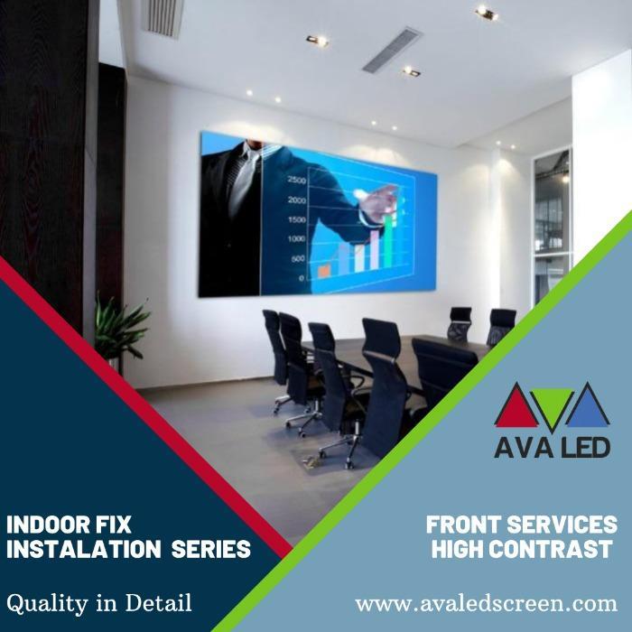 8K - 4K - Tela LED Full HD para salas de reuniões - Monitores LED Mini Pixel LED AVA
