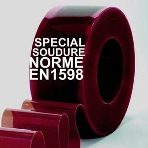 Rouleau de laniere pvc soudure - Rouleau de lanieres PVC spécial soudure de longueurs variables