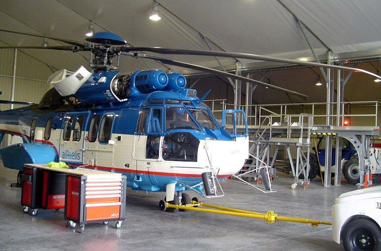 Atelier de réparation et maintenance - Systèmes de construction démontable - Constructions industrielles