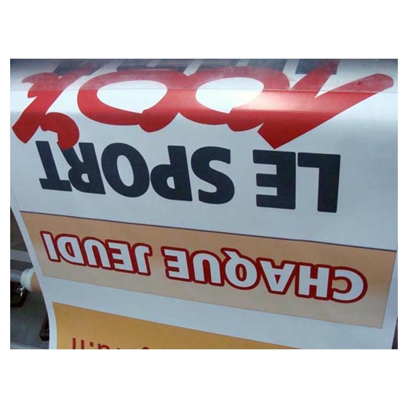 L'impression grand format : La banderole publicitaire - Banderoles, bache publicitaire et kakemonos