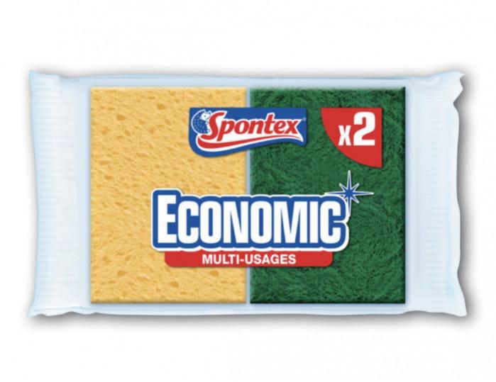 Éponges multi-usages X2 - SPONTEX -