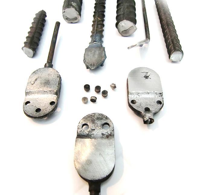 Sistema de Procesamiento de Muestras Metálicas MultiEQP-100 - Cortadora, aplastadora y punzonadora de acero y piezas metálicas