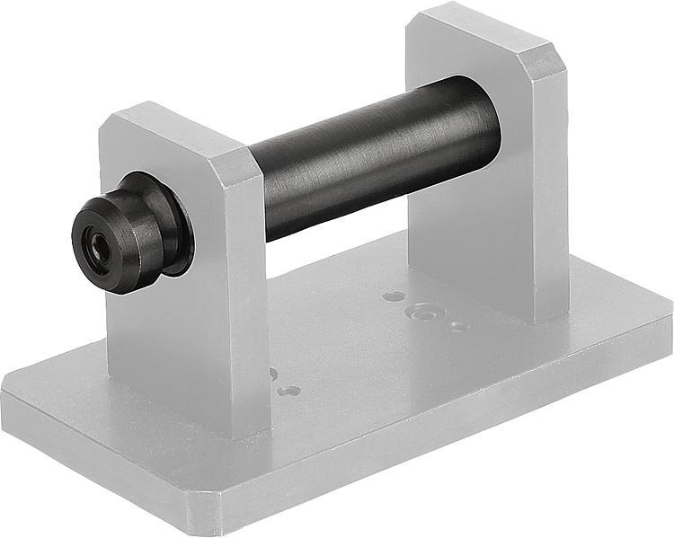Broche de manutention avec rondelle escamotable - Anneaux de levage fixes et pivotants, anneaux à broche autobloquante