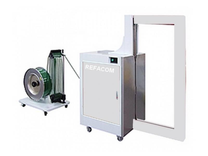 Halfautomatische omsnoeringsmachines Record Side Seal - Omsnoeringsmachines voor pakken en kisten