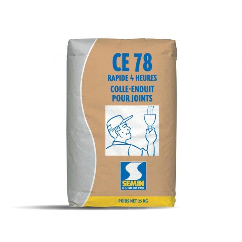 Enduit pour joints de plaques de plâtre - CE 78 4 H