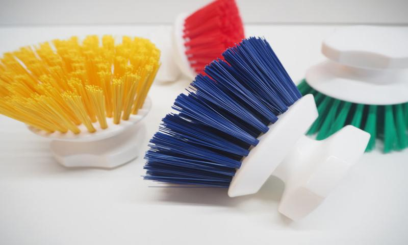 Button brushes and handle brushes - Hygienic brushes