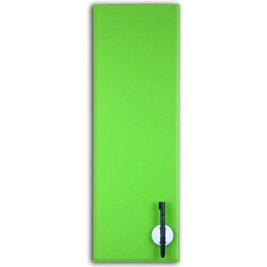 Glas Magnettafel 60x20cm Farbe: Limegreen - null